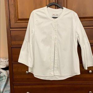 White blouse vineyard vines worn twice